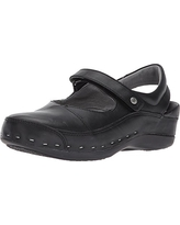 Wolky Women's Clogs & Mules, Black Mighty Leather, 11.5-12