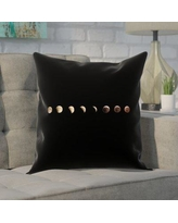 """Brayden Studio Shepparton Moon Phases Pillow Cover BYST5091 Size: 16"""" x 16"""""""
