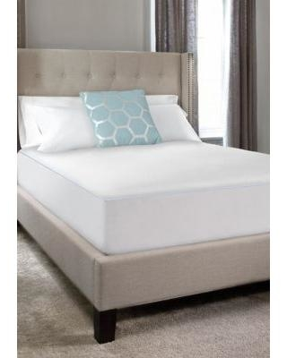 Sealy White Cool Comfort Fitted Mattress Protector