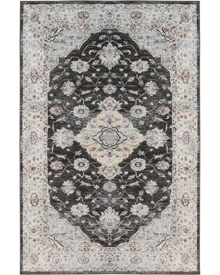 St Croix Trading Company Loren Home Dark Brown 8 ft. x 10 ft. Area Rug