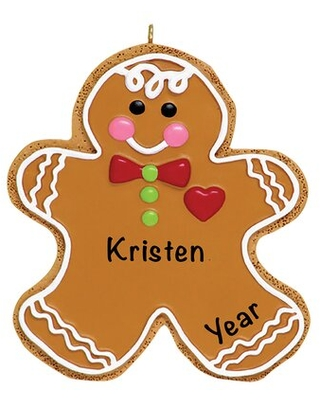 Gingerbread Man Hanging Figurine Ornament The Holiday Aisle®