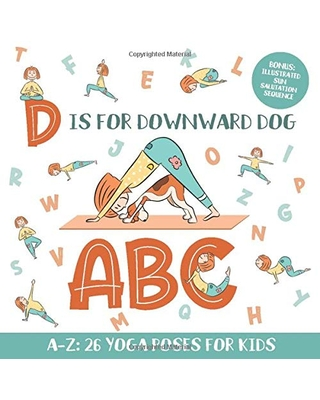 deals for d is for downward dog abc yoga abc book for