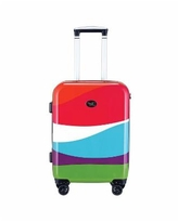"""French Bull Printed 20"""" Hardside Carry-On Spinner - Wave"""