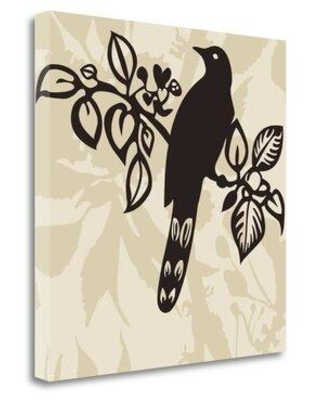 Shop Tangletown Fine Art Song Bird 1 Graphic Art Print On Wrapped Canvas Canvas Fabric In Brown Black Size 20 H X 20 W Wayfair Ics1240d 2020c