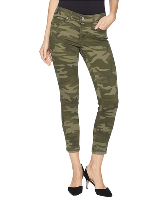 Levi's(r) Womens 711 Ankle Skinny (Soft Camo) Women's Jeans