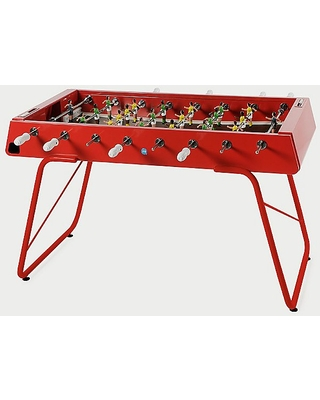 RS#3 Foosball Table by RS Barcelona - Color: Red - Finish: Painted - (RS3-2)
