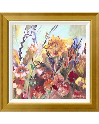 "East Urban Home 'First Day of Spring' Framed Oil Painting Print on Canvas EUAH7788 Size: 24"" H x 24"" W Matte Type: Ivory"
