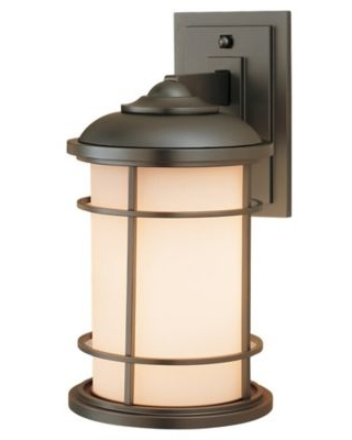 Feiss® Lighthouse Outdoor Wall Lantern in Burnished Bronze