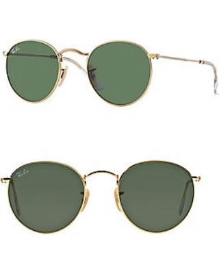0cad42d2d1106 Sweet Savings on Ray-Ban Women s Round Metal Sunglasses - Green