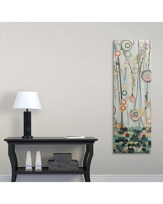 """Great Big Canvas 'Blooming Meadow II' Candra Boggs Graphic Art Print 1057213_1 Size: 48"""" H x 16"""" W x 1.5"""" D Format: Canvas"""