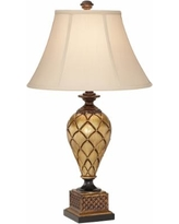Theron Antique Gold Urn Table Lamp