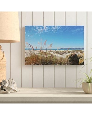 """Rosecliff Heights 'Sea Oats and Dunes' Photographic Print Wrapped on Canvas ROHE5138 Size: 8"""" H x 12"""" W x 2"""" D"""