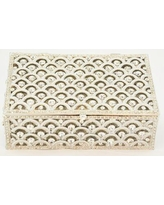 House of Hampton Jewelry Box W000694873 Color: White