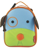 Skip Hop Zoo Little Kids & Toddler Insulated Lunch Bag, Dog, Blue/Green