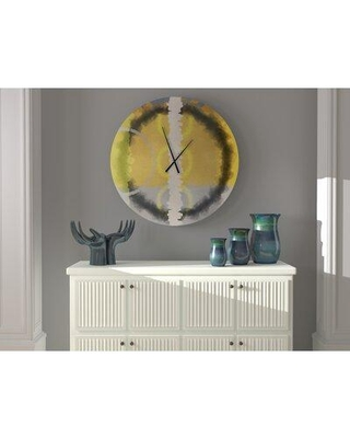 East Urban Home Oversized Swinford Wall Clock X113588342 Size: Large