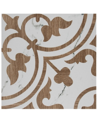 Find Deals On Merola Tile Take Home Sample Arte Loire Noce 9 75 In X Porcelain Floor And Wall Low Sheen