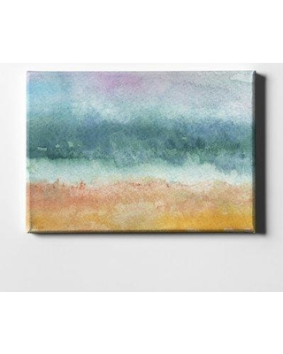 """Highland Dunes 'Beach' Acrylic Painting Print on Wrapped Canvas HLDS8471 Size: 26"""" H x 40"""" W"""