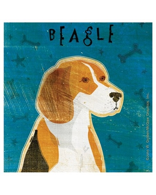 Thirstystone Occasions Drink Coasters, Set, Beagle