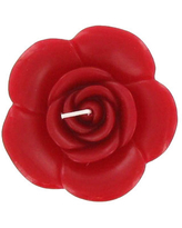 Red Rose-Shaped Floating Candle