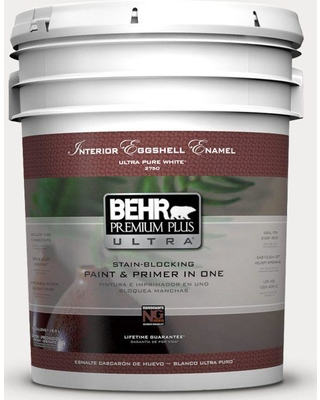 New Savings On Behr Ultra 5 Gal Ppl 34 Floral Scent Extra Durable Eggshell Enamel Interior Paint Primer