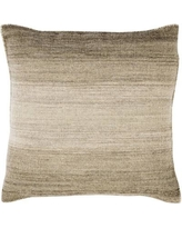 """Williston Forge Cortes Wool Throw Pillow WLFR5601 Size: 20"""" H x 20"""" W x 4"""" D, Color: Olive"""