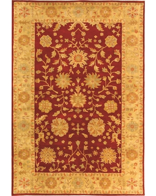 Safavieh Heritage Red/Gold 6 ft. x 9 ft. Area Rug