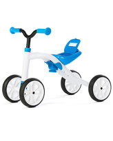 Chillafish Quadie Adjustable Ride On Four Wheeler - Blue - Active Play for Babies - Fat Brain Toys