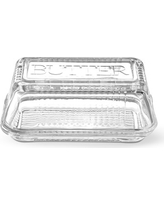 Bordeaux Glass Butter Dish