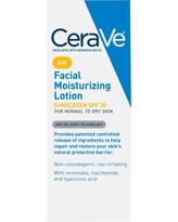 CeraVe Facial Moisturizing Lotion AM with Sunscreen, Broad Spectrum Spf 30 - 3 oz