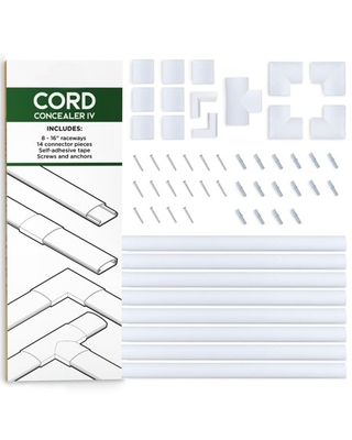 Cord Organizer Kit- Sliding Cable Management-Covers by Edison Supply
