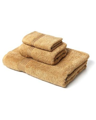The Twillery Co. Patric 3 Piece Egyptian-Quality Cotton Towel Set CHMB1468 Color: Toast