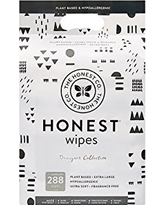 The Honest Company Designer Baby Wipes, Geo Shapes, 288 Count