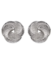 Frosted Knot Studs