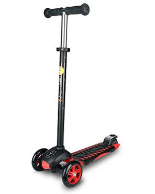 YBike GLX PRO - Black/Red - Active Play for Ages 5 to 8 - Fat Brain Toys