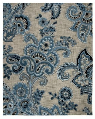 Safavieh Allure 310 Gray and Blue 8' x 10' Area Rug