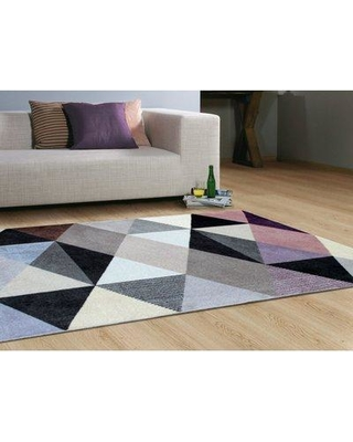 "Trule Teen Bowman Gray/Beige Area Rug W001363327 Rug Size: Rectangle 5'5"" x 7'6"""