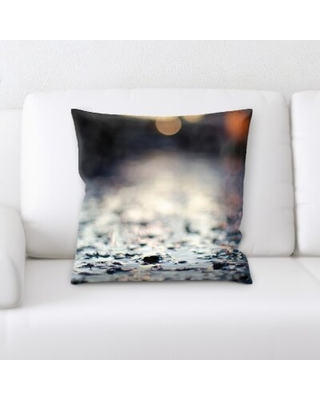 New Deal On Blurred Out Throw Pillow East Urban Home