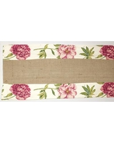 RLF Home Ashton Table Runner 21000 Color: Raspberry