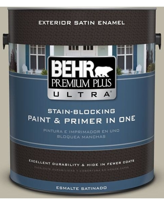 New Savings On Behr Ultra 1 Gal Bxc 19 Historical Ruins Satin Enamel Exterior Paint And Primer In One