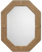 "Jamie Young Lanyard Jute 36"" x 46"" Nautical Wall Mirror"