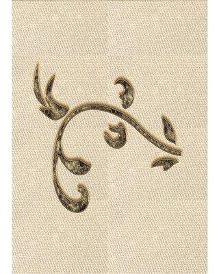 East Urban Home Pero Wool Brown Area Rug X111586915 Rug Size: Rectangle 2' x 4'