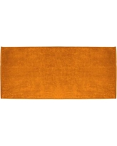 Zipcode Design Terry Velour Premium 100% Cotton Beach Towel ZPCD2801 Color: Orange