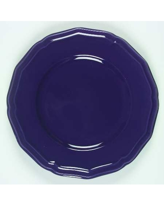 American Atelier Country Purple Dinner Plate