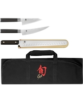 Shun Classic 4-Piece BBQ Knife Set