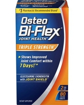 Osteo Bi-Flex Triple Strength Coated Tablets with Glucosamine Chondroitin, 80 Ct