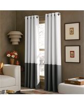 Curtainworks Kendall Lined Curtain Panel - White (120)