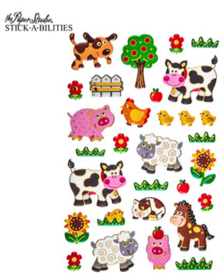 New Sales are Here! 40% Off Farm Animal 3D Stickers