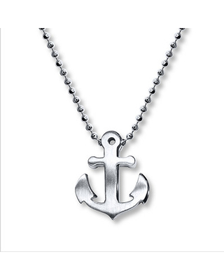 146cf47bf Savings on Alex Woo Anchor Necklace Sterling Silver