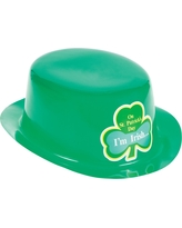 St. Patrick's Day Derby Hat, Green