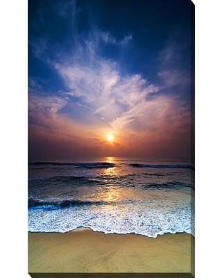 """PicturePerfectInternational 'Hazy Reflections 2' Photographic Print on Wrapped Canvas 704-4010 Size: 40"""" H x 24"""" W x 1"""" D"""